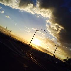 Sun rise to light my way