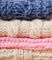 Knitted background, texture