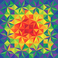 mosaic background - vector illustration