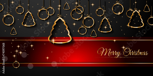 2015 New Year and Happy Christmas background - 74097068