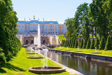 Peterhof Palace in Saint Petersburg, Russia