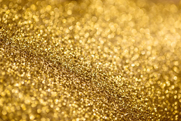 glitter background gold