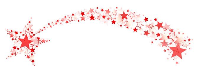 Rote Sternschnuppe