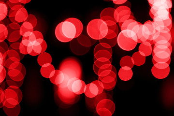 Colorful night lights