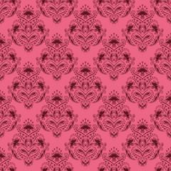 Damask seamless floral pattern.