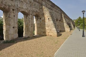 Roman aqueduct in Merida, Spain