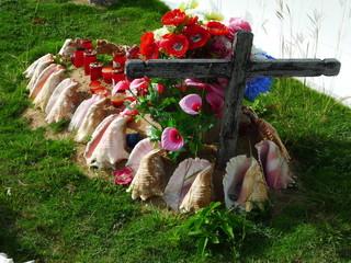 Tombe au cimetière des Saintes en Guadeloupe