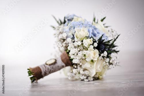 In de dag Hydrangea schöner Brautstrauß