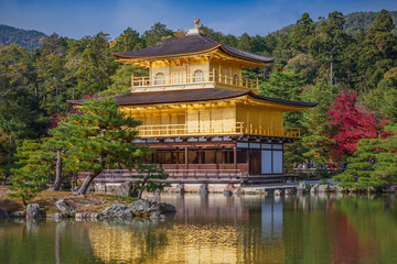 Golden Pavilion Kinkakuji Temple