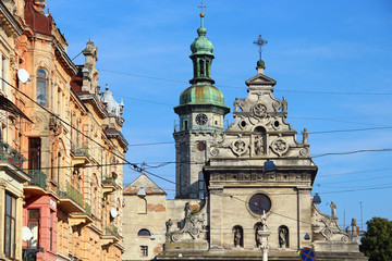 Greek Catholic Church of St. Andrew (Bernardine Church), Lviv