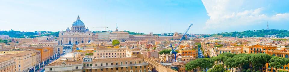 Panorama of Rome, Italy