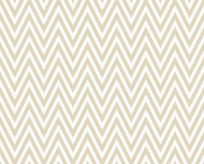 Beige and White Zigzag Textured Fabric Repeat Pattern Background