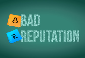 bad reputation illustration design