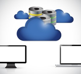 cloud computer server storage