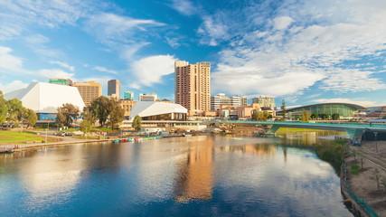 Timelapse video of Adelaide city, Australia