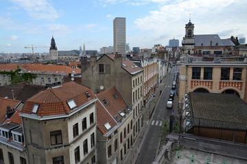 Skyline of Brussels, Belgium