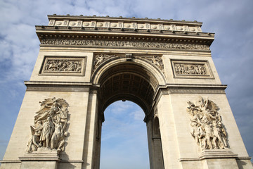 Arc de Triomphe. Paris