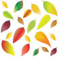 Leaves pattern.