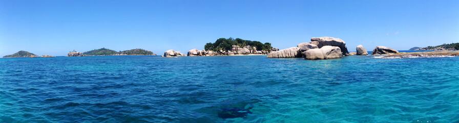 idyllique, les seychelles