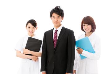 portrait of businessperson medical image