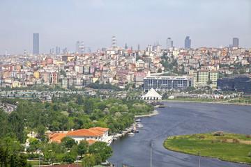 Golden Horn inlet in Istanbul, Turkey