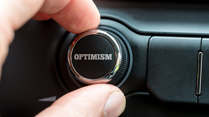 Turning a power button reading - Optimism