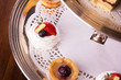 canvas print picture - Delicious dessert selection