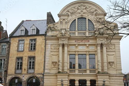 Vitre theatre in Ille-et-Vilaine , Brittany, France