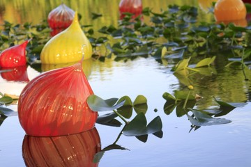 Chihuly exhibition - fairchild gardens