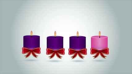 Red ribbon gift, Video Animation, HD 1080
