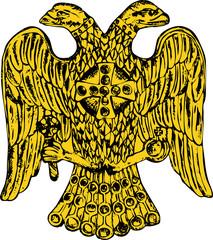 Byzantine double headed eagle