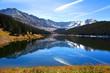 Clinton Gulch dam reservoir