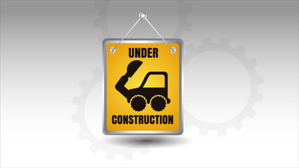 Under construction Video Animation, HD 1080