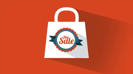 Big sale bag, Video Animation, HD 1080