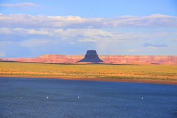 Desert landscape near lake Powell