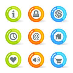Gel Web Icons