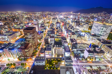 Sapporo, Japan Cityscape in Chuo Ward