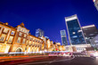 Tokyo Station Front at Night - 74115459