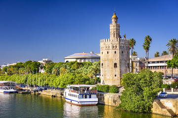 Torre del Oro Tower of Seville, Sapin