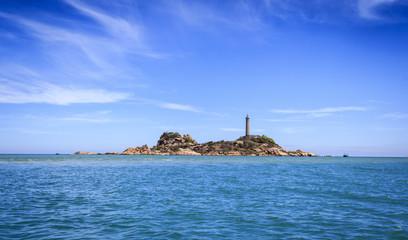 Ke Ga Lighthouse island