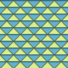 Retro Color Geometric Pattern