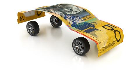 50 Australian Dollars on Wheels