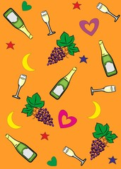champagne_background