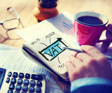 Value Added Tax VAT Finance Taxation Accounting Concept - 74118897