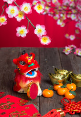 chinese new year decorations ,chinese character symbolizes gong