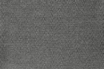 texture fabric a herringbone of gray color