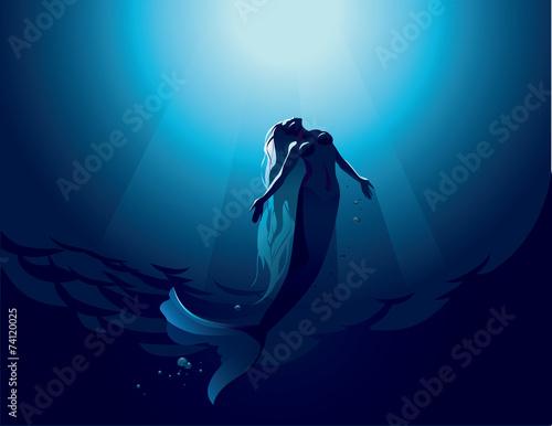 Zdjęcia na płótnie, fototapety, obrazy : Mermaid