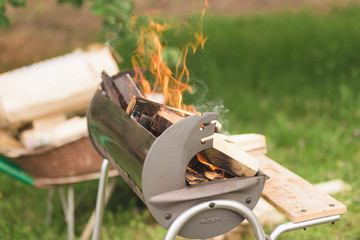 Barbecue fireplace