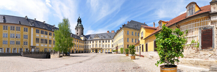 Panoramafoto Schloss Heidecksburg