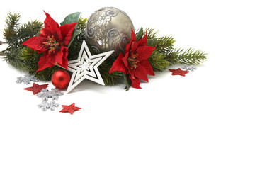 Luxurious Christmas decoration background